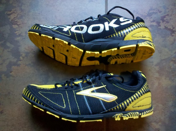 Nike Free RN - Sole; Brooks Mach 12 spikeless racing flat (returned to  store). Saying that this shoe